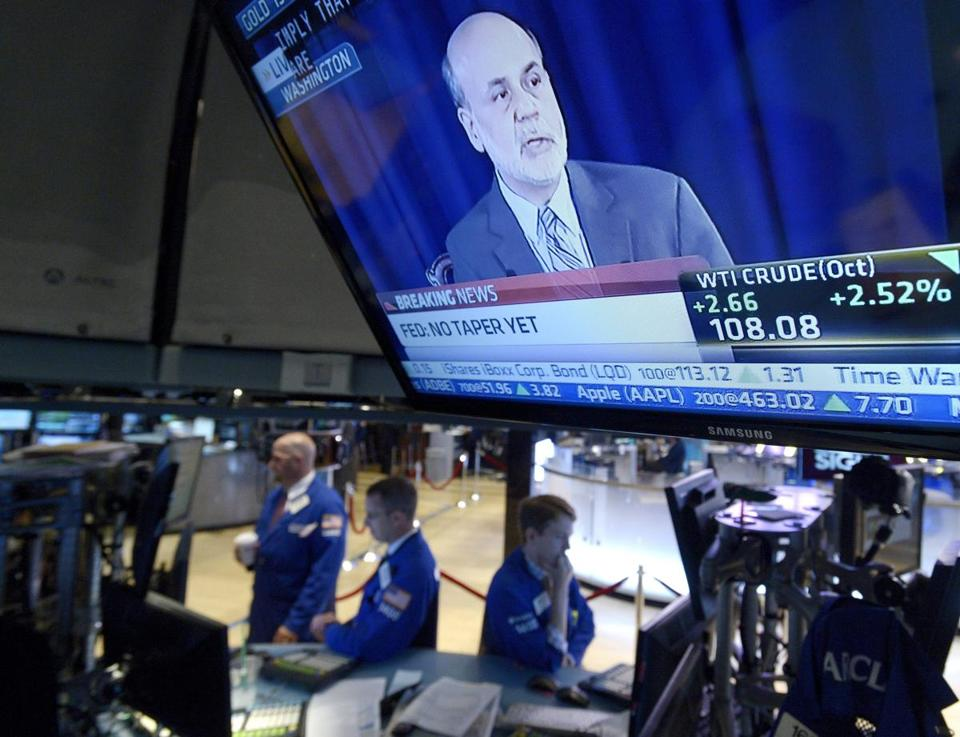 Traders worked on the floor of the New York Stock Exchange on Wednesday.