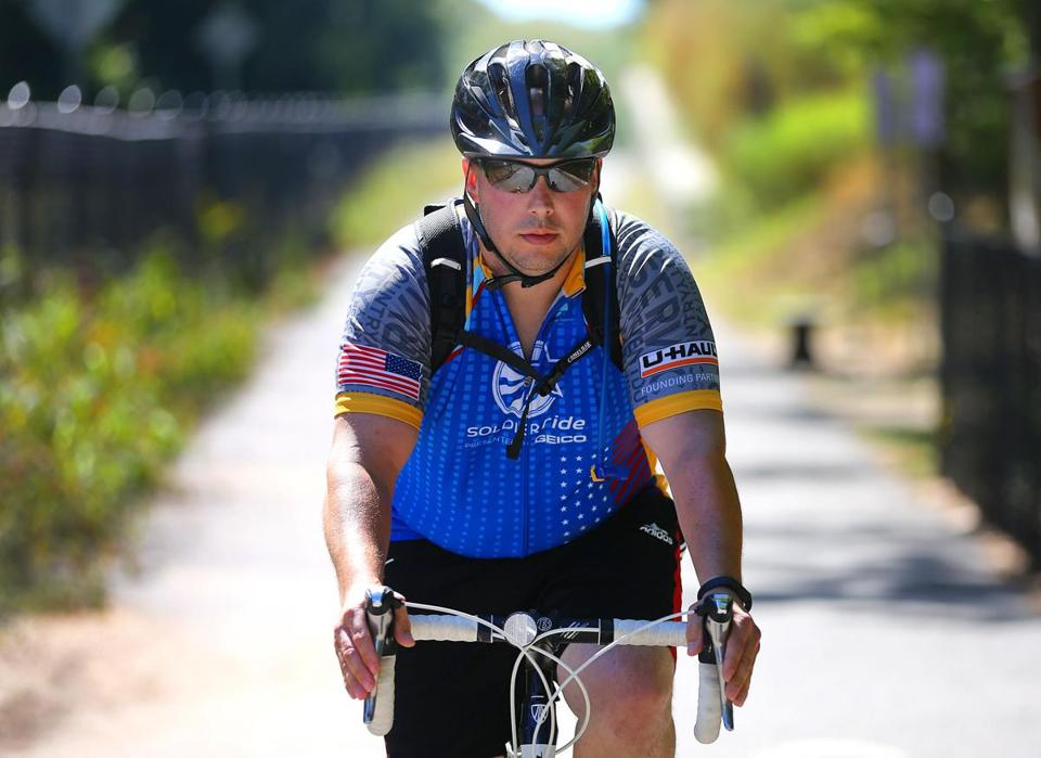 For Chris Loiselle, an Air Force special operations veteran from Chelmsford, the ride helped with his post-traumatic stress.