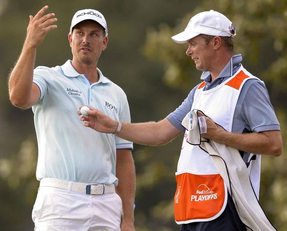 Henrik Stenson and Gareth Lord teamed up for a 66.