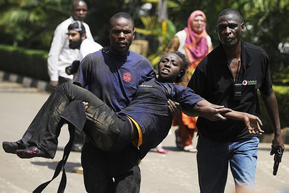 More than 150 people were wounded in the attack in Nairobi, one of the worst in East Africa since 1998.