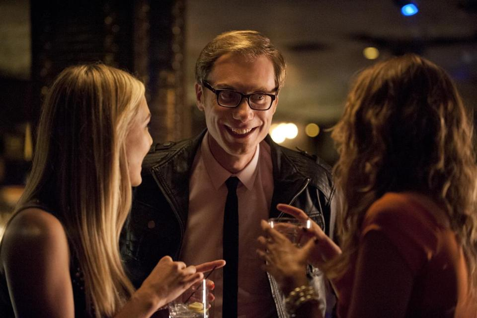 Stephen Merchant stars as a socially awkward, extremely cheap bachelor on the prowl.