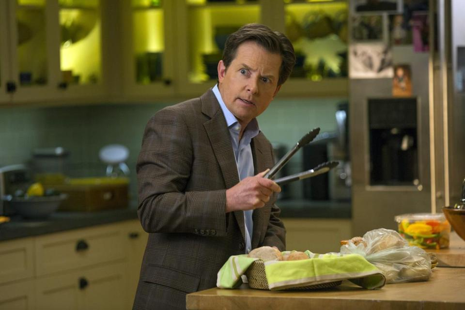 "TV critic Matthew Gilbert says of ""The Michael J. Fox Show,"" ""So conventional. . . . I was hoping for something crazier."""