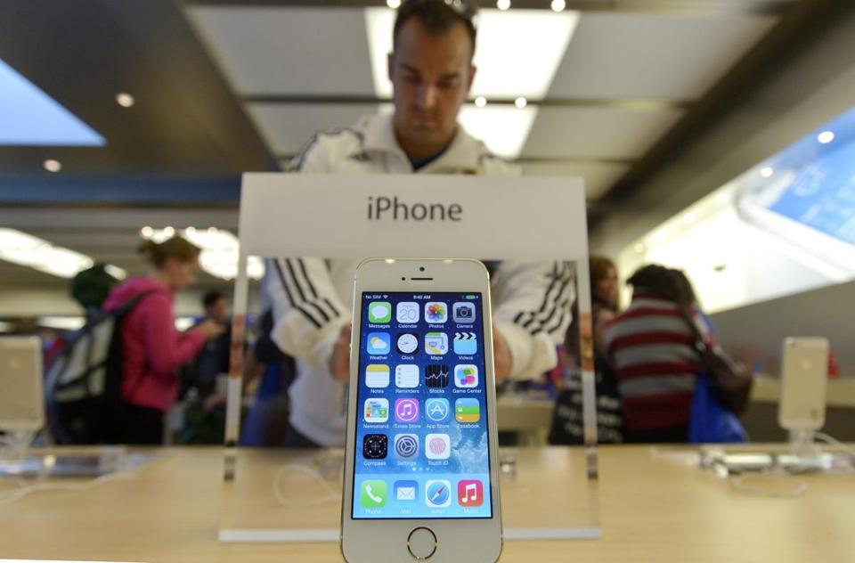 Apple Inc. on Monday said it sold 9 million units of its top-of-the-line iPhone 5S and less-expensive iPhone 5C during their first three days on sale.