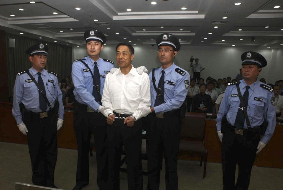 A Chinese court gave Bo Xilai a life sentence.