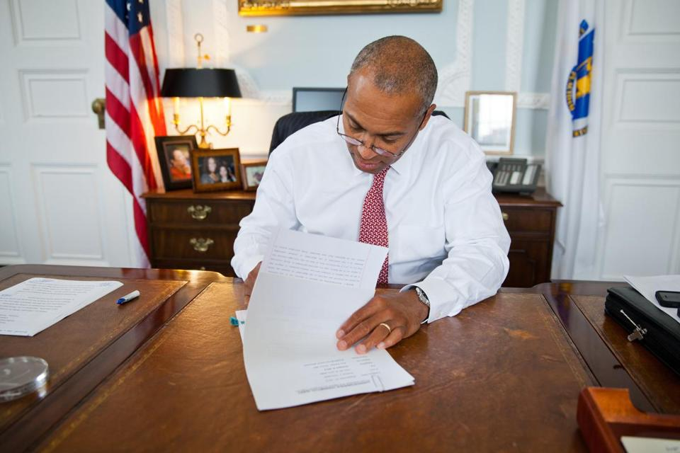 Governor Deval Patrick signed a bill repealing the controversial tech tax.