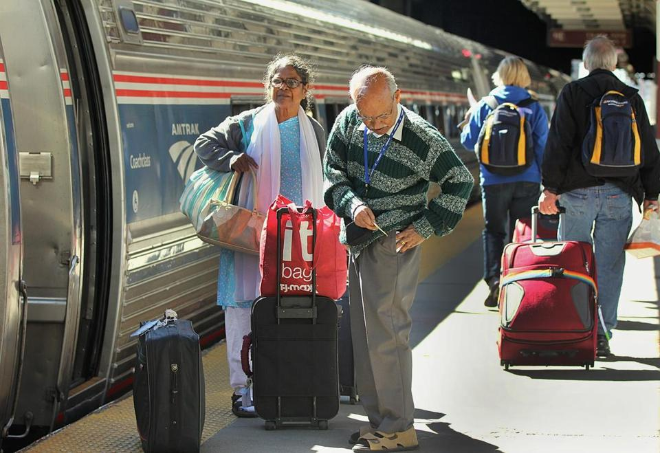 Amtrak booked Acela passengers at South Station onto slower regional service.