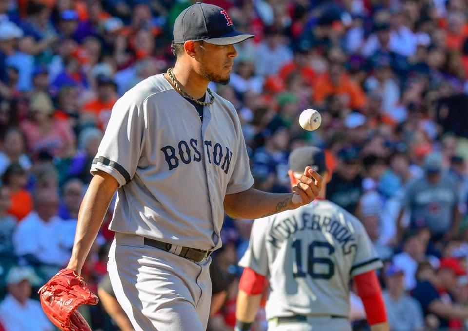 Like the baseball, Felix Doubront's postseason status is up in the air after a rough outing.