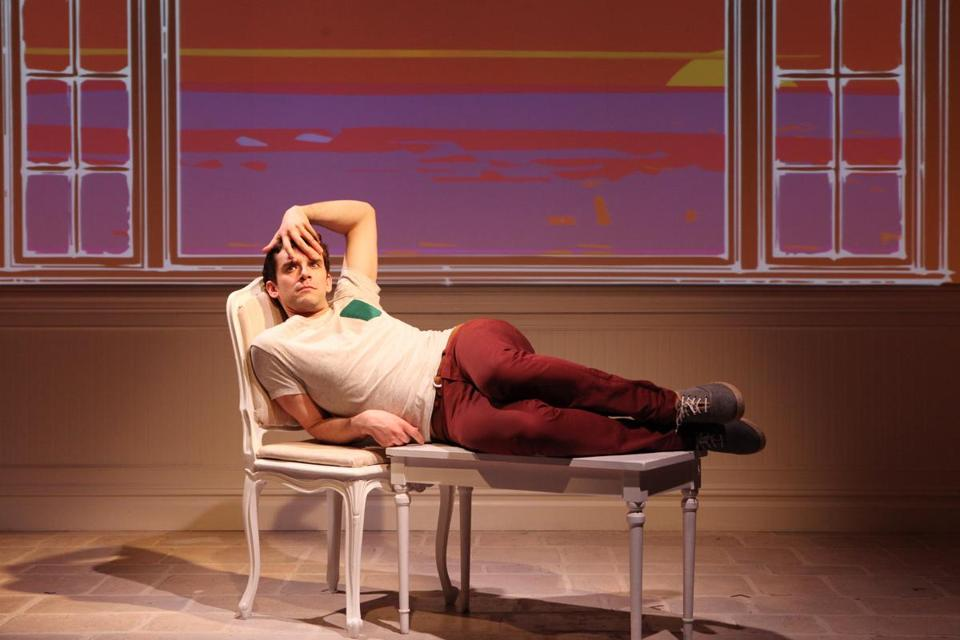 Buyer & Cellar stars Michael Urie at the Barrow Street Theatre.
