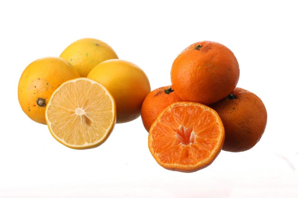 Lemons and oranges can help rid your home of strong odors.