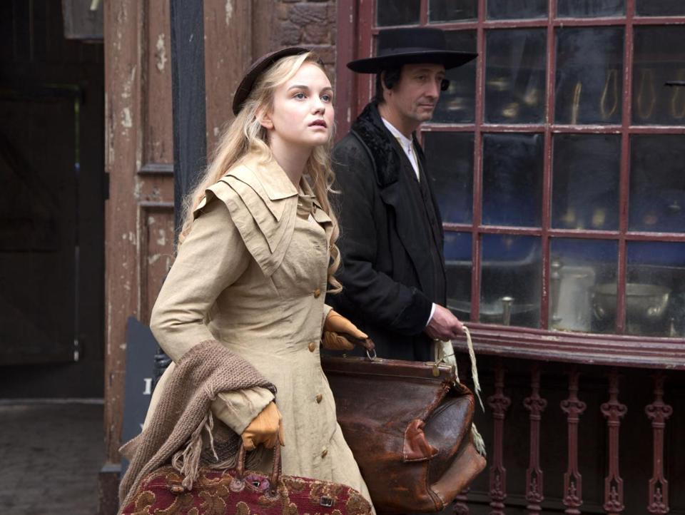 Joanna Vanderham plays an ambitious 1870s shopgirl in the North of England who captures the attention of the store owner.