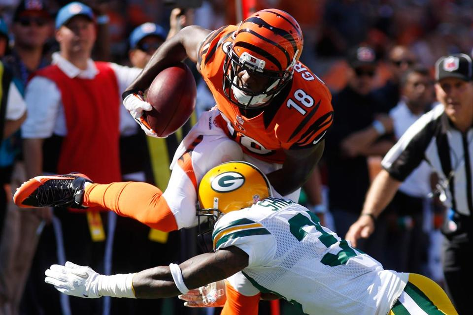 The Bengals have one of the NFL's best receivers in A.J. Green.