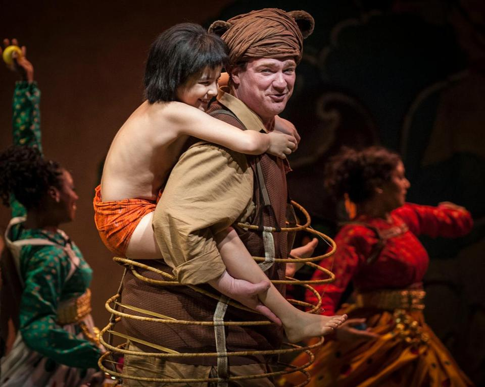 "Huntington Theatre Company's production of ""The Jungle Book."""