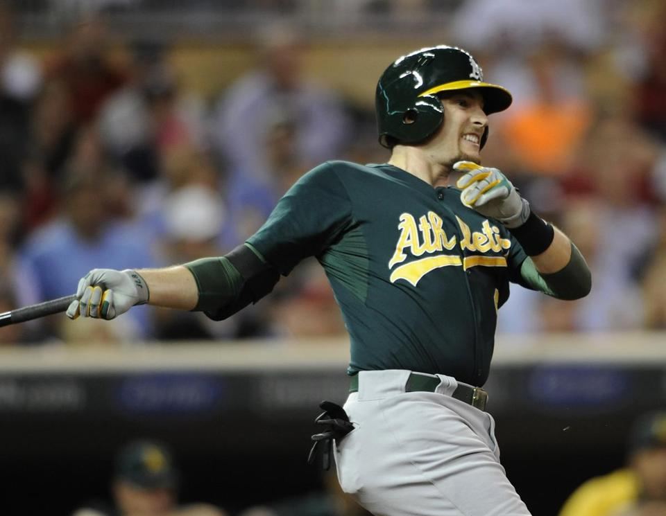 Injuries were a problem for Jed Lowrie until this season (154 games).