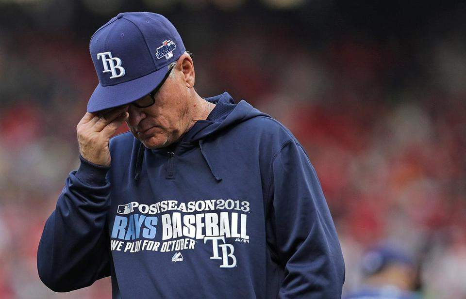 After opening the ALDS with two lopsided losses at Fenway Park, Joe Maddon and the Rays are thrilled to be home.