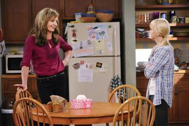 "Allison Janney and Anna Faris in ""Mom."""