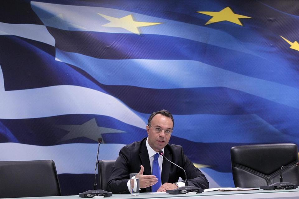 Greece's deputy finance minister, Christos Staikouras, said investments and exports have risen.