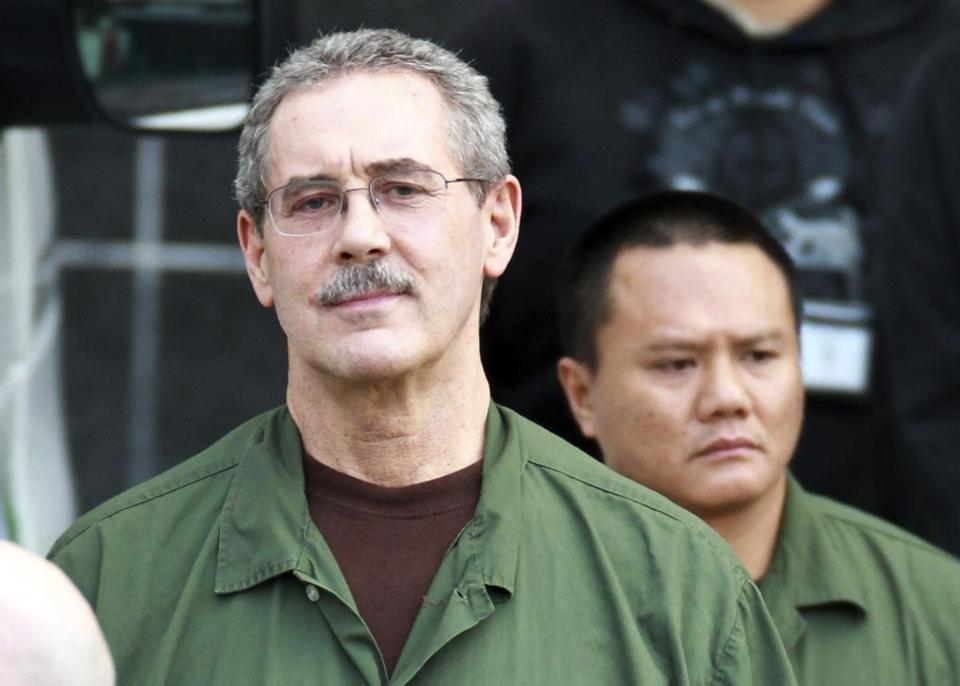 R. Allen Stanford at the Bob Casey Federal Courthouse in Houston in March 2012.