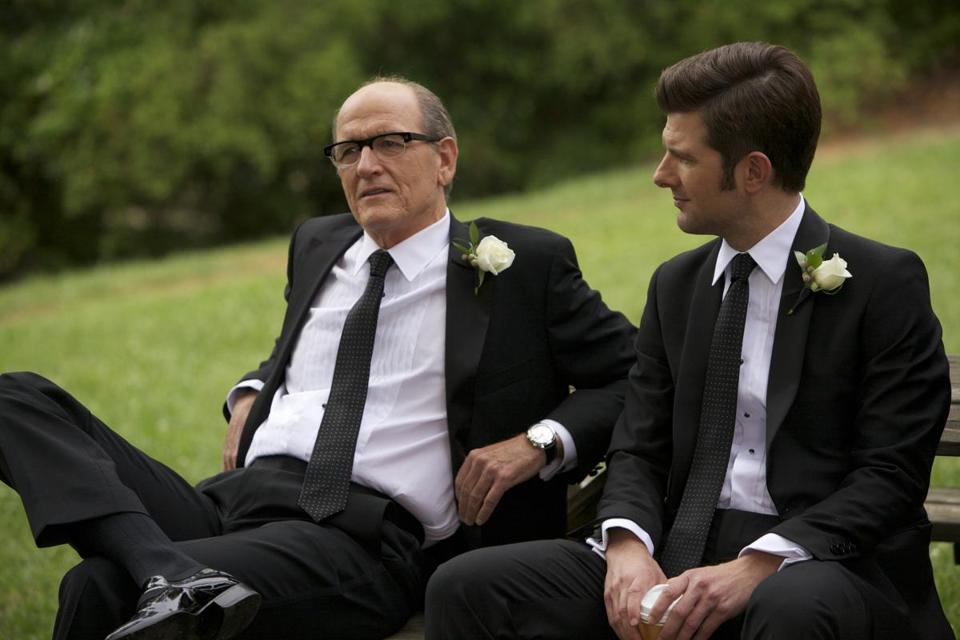 "Richard Jenkins (left)  and Adam Scott in the movie  ""A.C.O.D."""