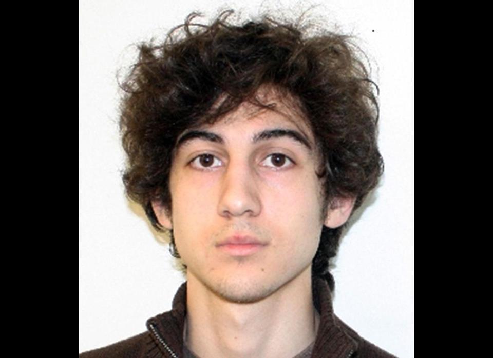 Accused Boston Marathon bomber Dzhokhar Tsarnaev.