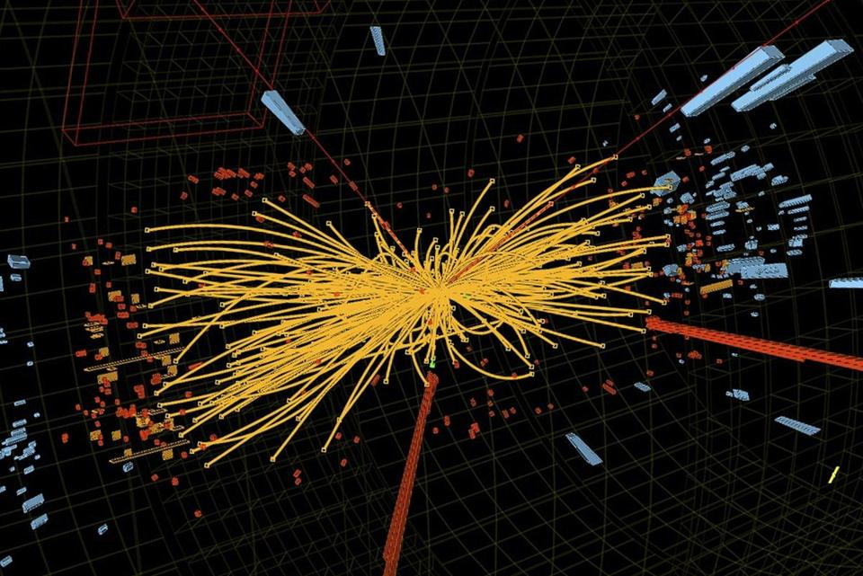 "The Higgs boson theory sent physicists on a long search for a telltale particle known as the ""God particle."""