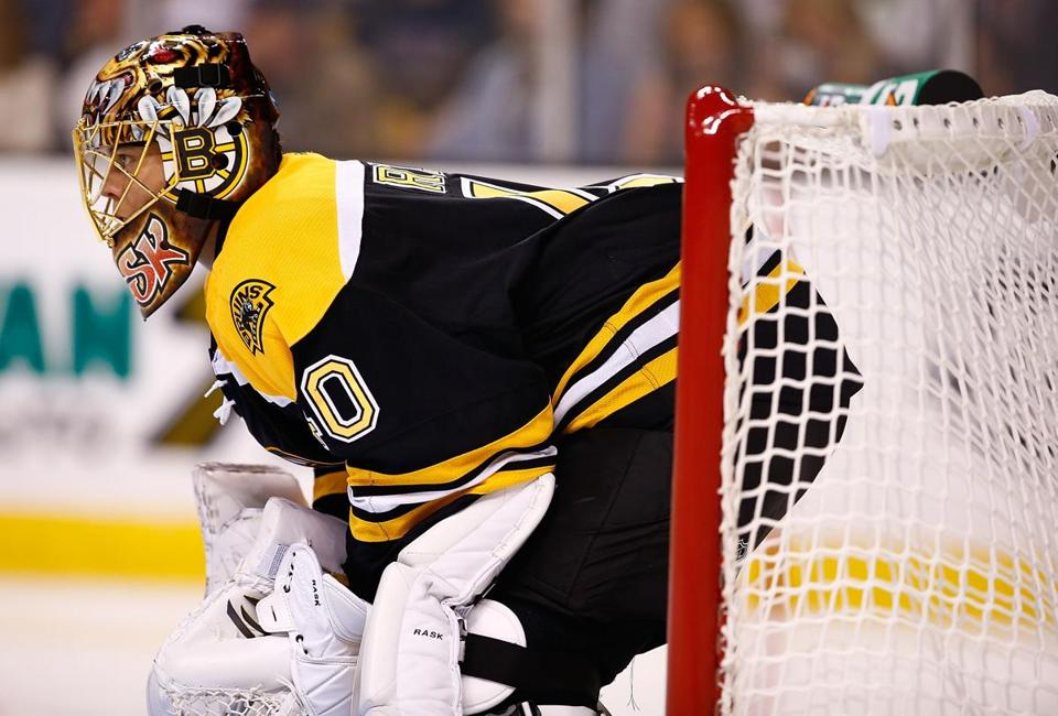Tuukka Rask has picked up where he left off last season, stopping all but two shots in the first two games.