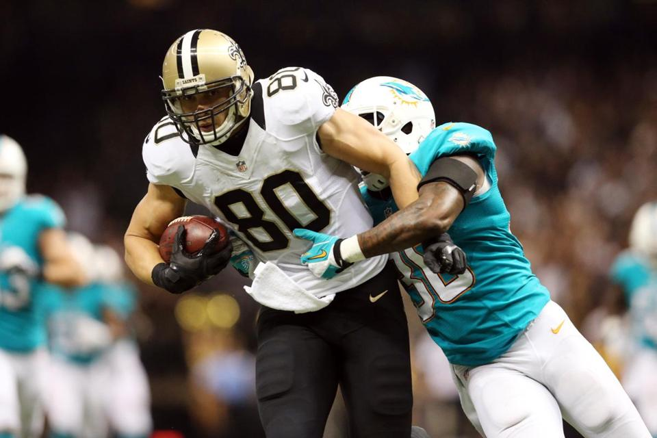 Saints tight end Jimmy Graham, who leads the NFL with 593 receiving yards, is a nightmare matchup.