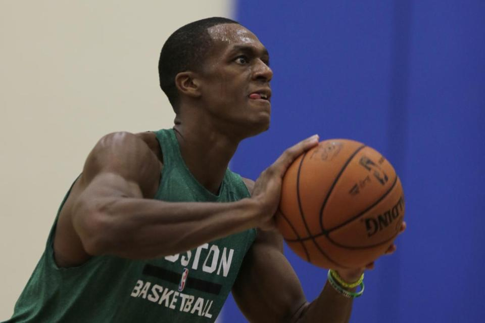 The Celtics say that Rajon Rondo will not be ready at the start of the regular season.