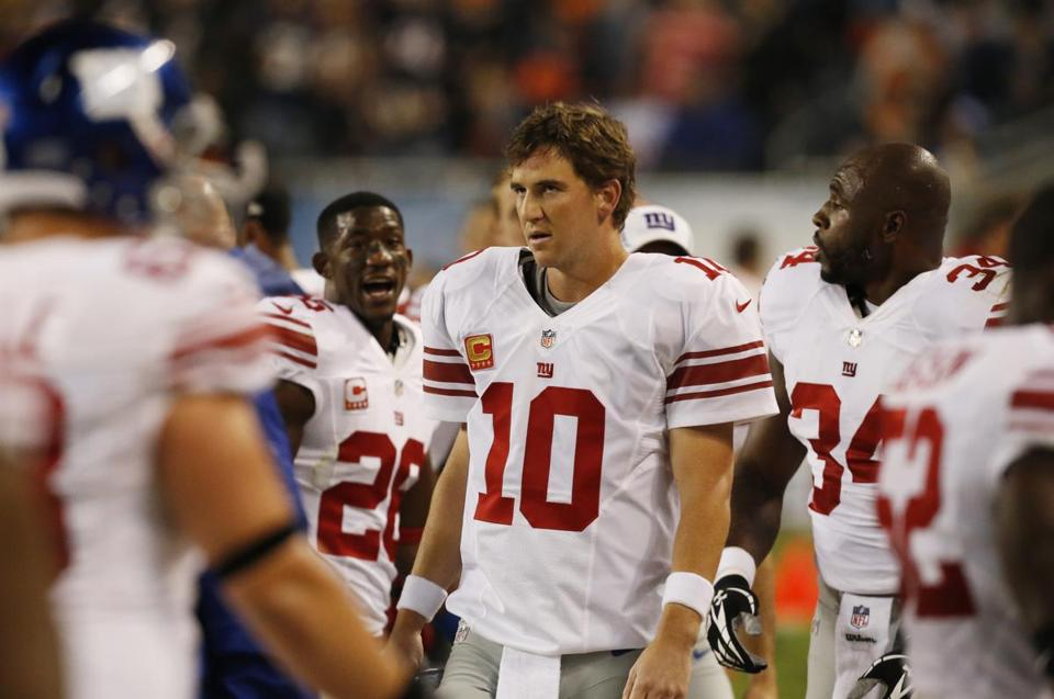Eli Manning and the Giants fell to 0-6.