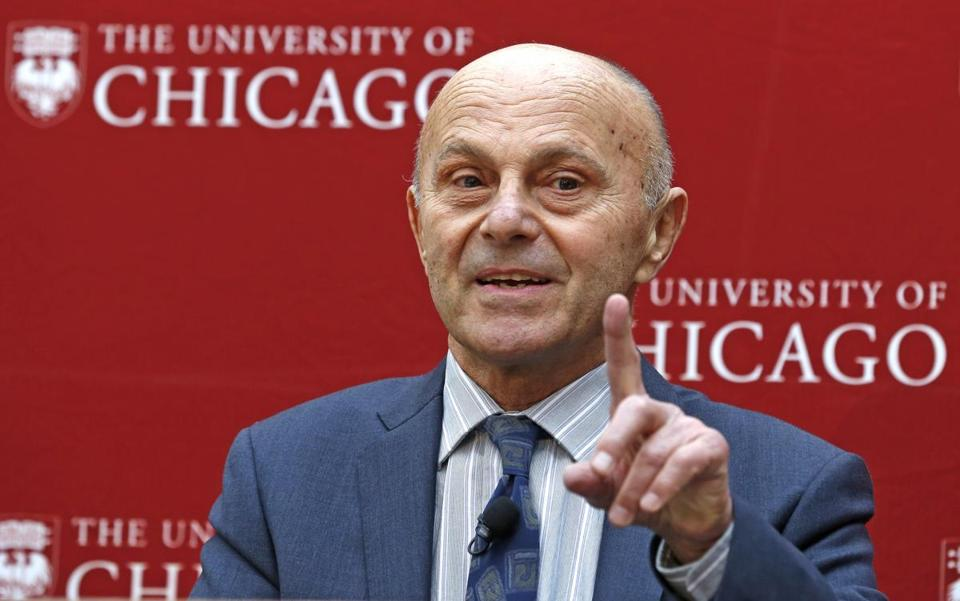 Eugene Fama received the Nobel Prize for his work showing the randomness and undpredictability of the stock market.