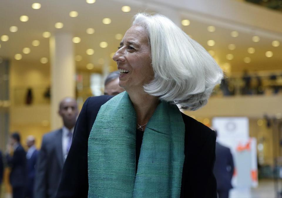"The United States must raise its debt ceiling and reopen its government or risk ""massive disruption the world over,"" said Christine Lagarde, the IMF's managing director."