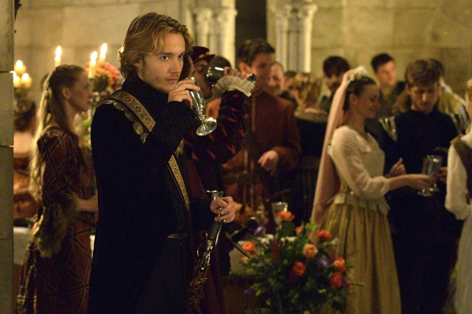 "Toby Regbo (above) is Prince Francis and Adelaide Kane (below) is Mary, Queen of Scots in ""Reign."""