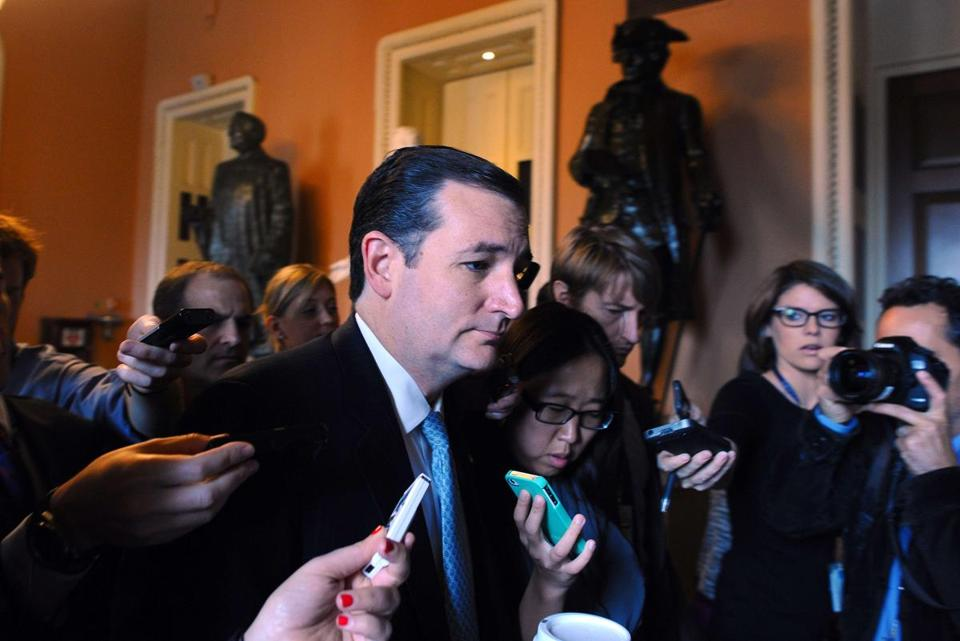 Republican Senator Ted Cruz said he won't delay a vote on the debt deal.