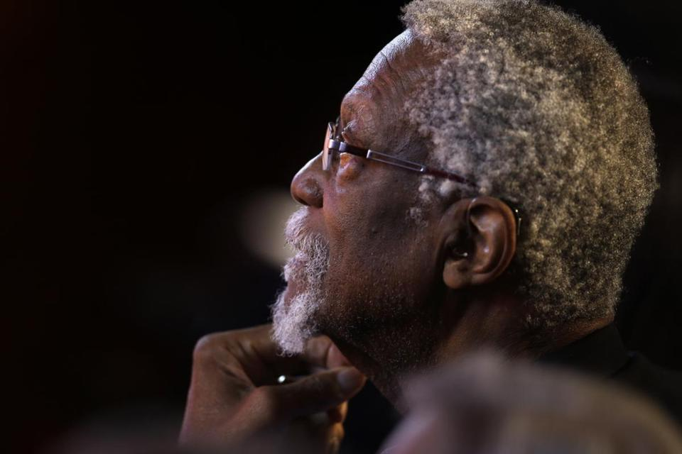 Celtics legend Bill Russell was briefly detained and cited for bringing a loaded handgun into a Seattle airport in his carry-on bag on Wednesday night, officials said.