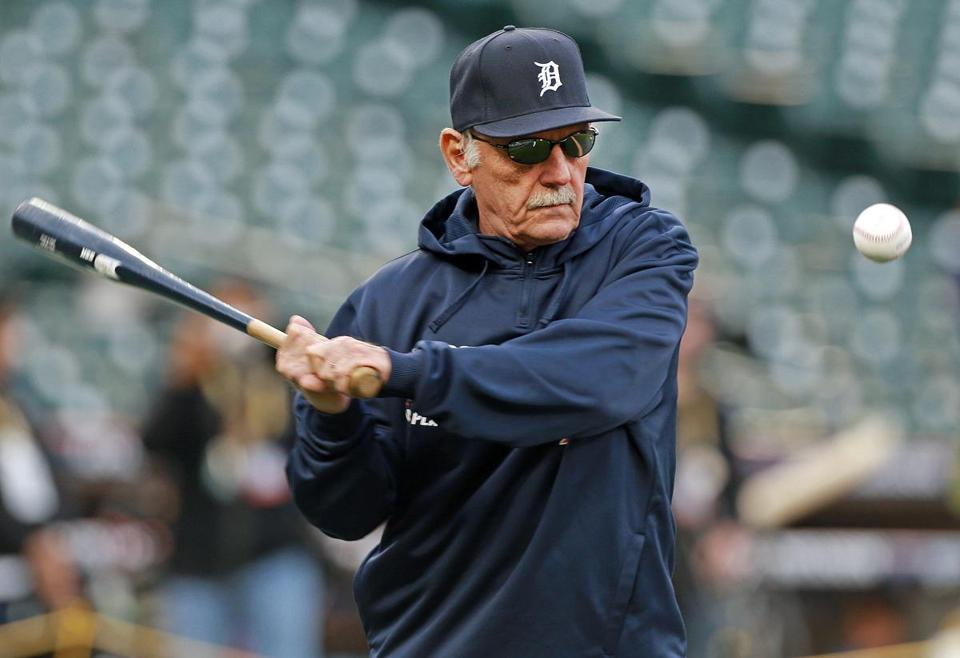 """You can say I'm nuts. You can say I'm dumb. You can say whatever you want,"" Leyland said before his rejuggled lineup produced a 7-3 win."