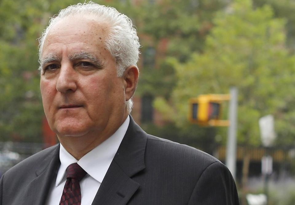 Bernard Madoff's operating chief, Daniel Bonventre (above), ran the firm's legal side, his lawyer said.