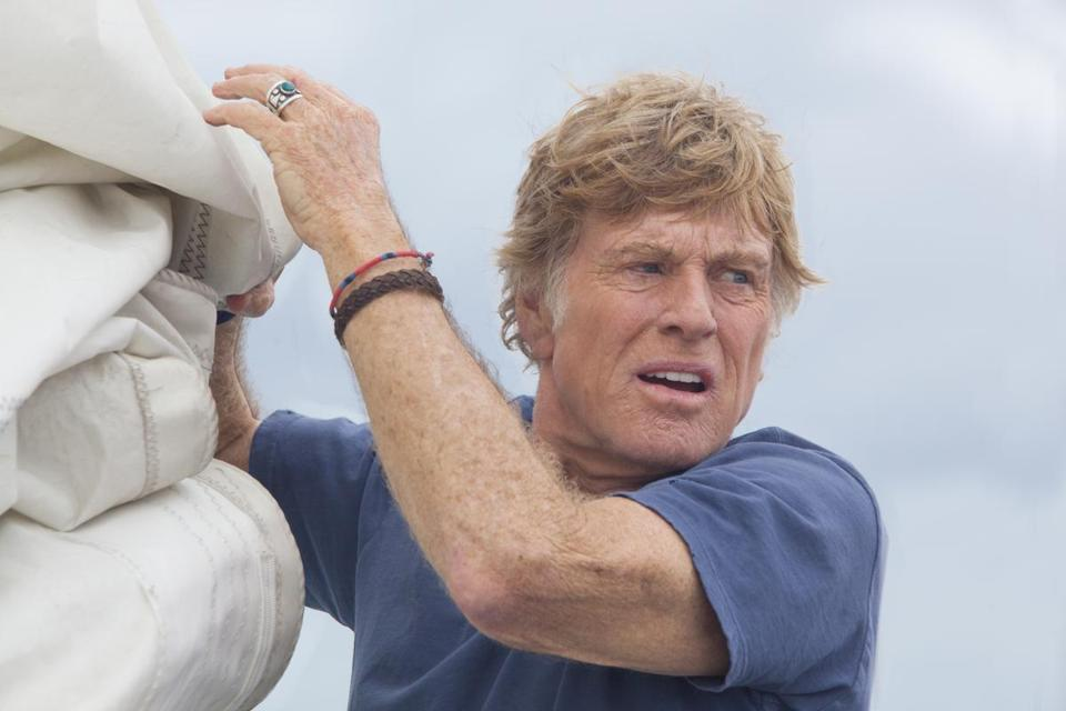 "Robert Redford stars in ""All Is Lost."""