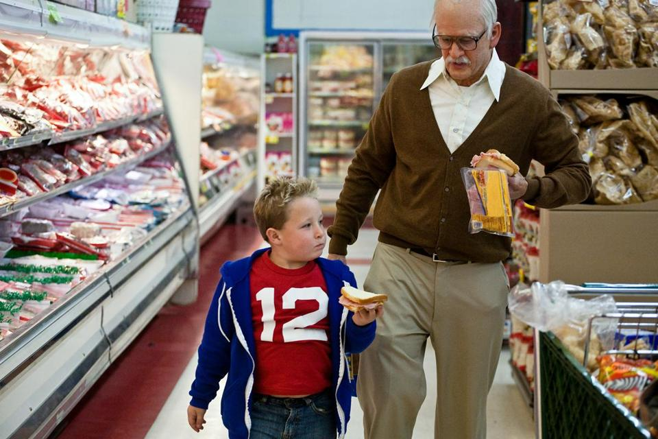 "Jackson Nicoll and Johnny Knoxville in ""Jackass Presents: Bad Grandpa.''"
