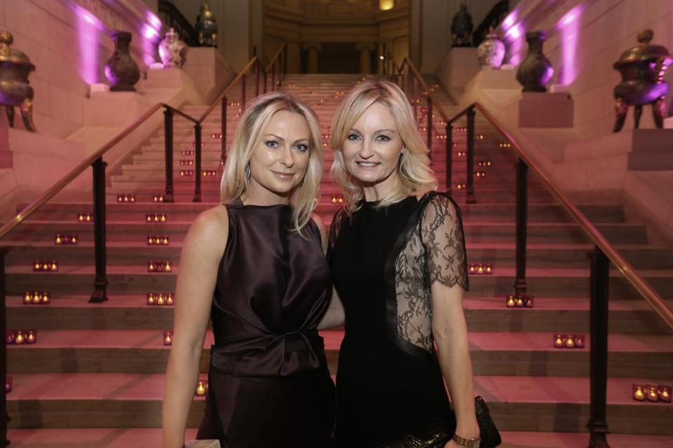 At the Storybook Ball at the Museum of Fine Arts, to benefit MassGeneral Hospital for Children programs, from left: Krista Ference and Courtney Forrester.
