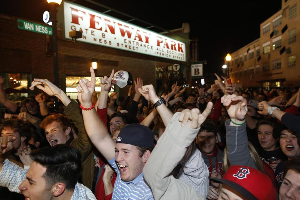 The faithful were rewarded by the Red Sox' clutch performance in Game 6 against Detroit.