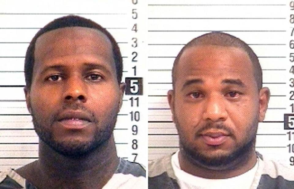Charles Walker (left) and Joseph Jenkins used faked papers that ordered their release from life sentences.