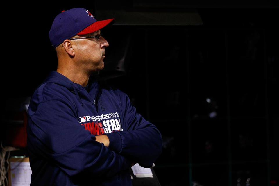 Terry Francona, now manager of the Cleveland Indians, said he is hoping for great baseball from the World Series.