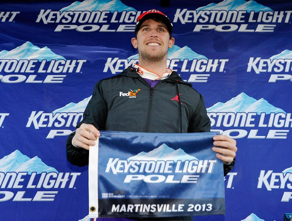 Denny Hamlin looks to keep up his Martinsville success.