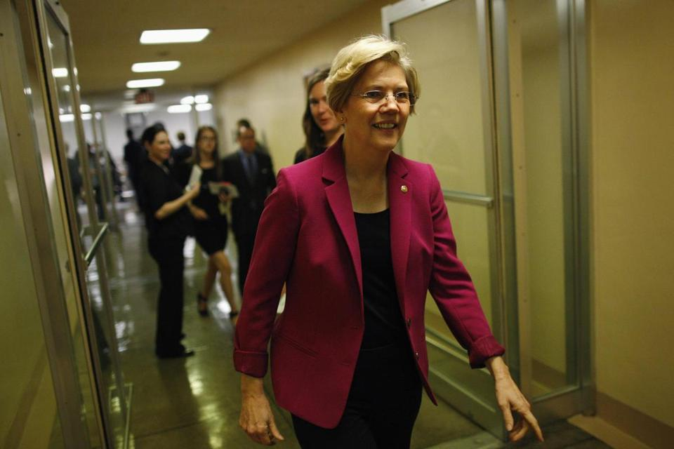 Senator Elizabeth Warren criticized the president's offer to compromise with Republicans on Social Security cuts. Some New England lawmakers have joined in opposing such cuts.
