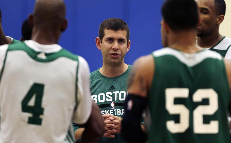 Brad Stevens is entering his first season as the head coach of the Celtics.