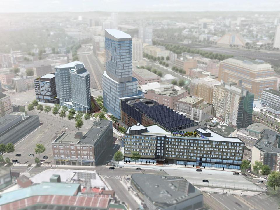 Fenway Center Developer Seeks City Tax Breaks The Boston