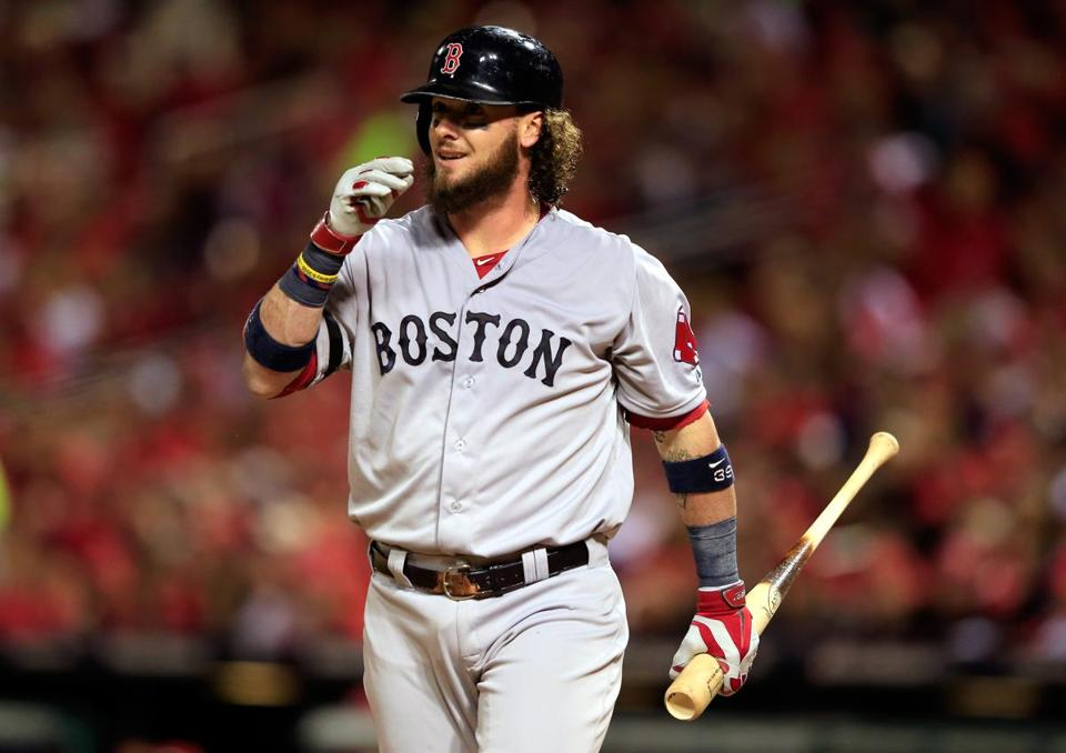 Jarrod Saltalamacchia (Photo by Jamie Squire/Getty Images)