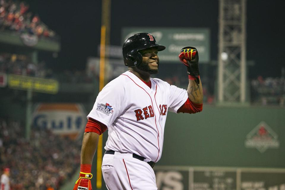 David Ortiz. Stan Grossfeld photo