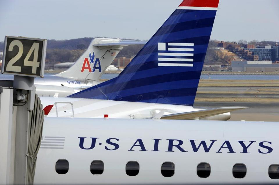 The agreement requires the combination of US Airways and American Airlines to scale back the size of the merger at key airports.