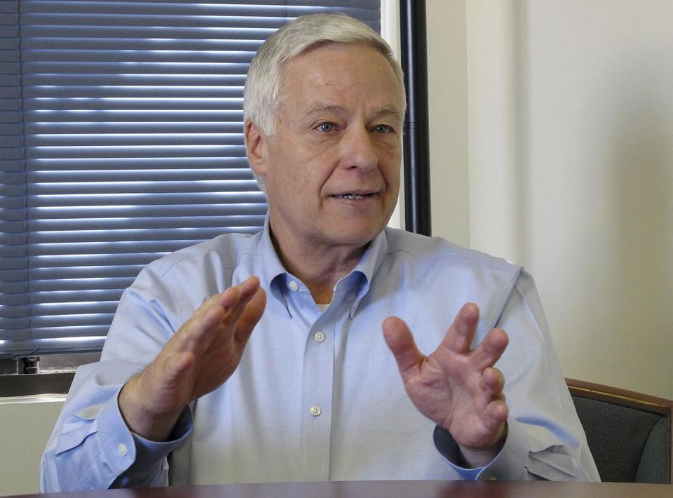 Mike Michaud made the announcement as a response to what he called a ''whisper campaign'' by opponents.