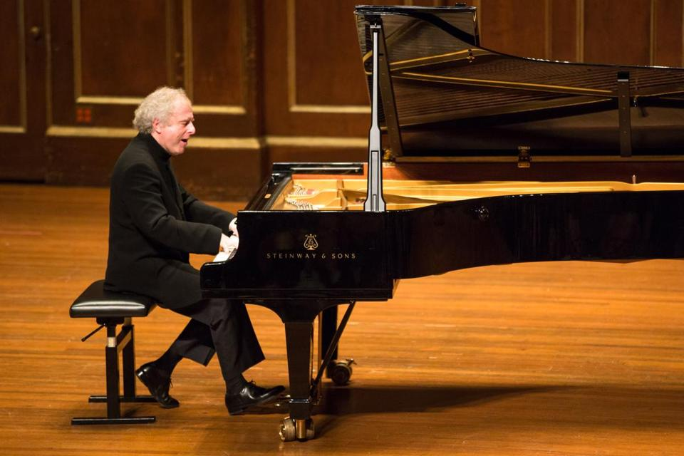 András Schiff performed in a Celebrity Series recital at Jordan Hall in Boston.